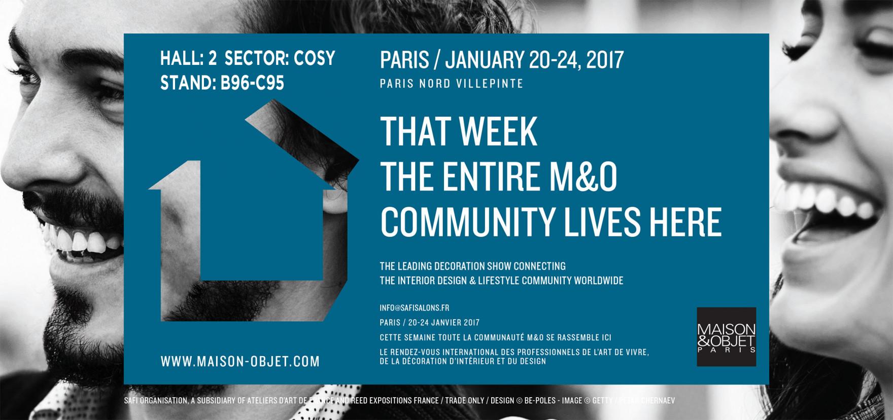 Maison et Object 2017 PARIGI